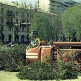 Краснодар. Угол улиц Красной и Бабушкина, 1990 год