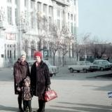 Краснодар. Угол улиц Красной и Орджоникидзе. Зима 1972/1973 годов