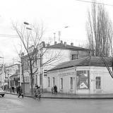 Краснодар. Угол улиц Красной и Северной. 5 декабря 1981 года.