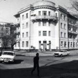 Краснодар. Угол улиц Седина и Орджоникидзе, фото 1987 года