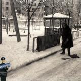Краснодар. Улица Гагарина 69, зима, 1975 год