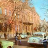 Краснодар. Улица имени К.Е. Ворошилова. Краеведческий музей.