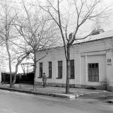 Краснодар. Красная 136 и 134. Вид на север. 05.12.1981 года.