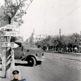 Краснодар. Улица Красная, вид на север от перекрёстка с Ленина.