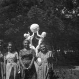 Краснодар. В сквере им. Свердлова. 1950-е годы