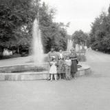 Городской сад - Аллея фонтанов (западная)