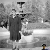 "Краснодар. В горпарке у фонтана ""с лягушками"", 1961 год"