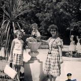 Краснодар. В парке им. М.Горького, июль 1963 года