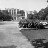 Краснодар. В Первомайском сквере, 1980 год.