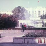Краснодар. В Первомайском сквере, 1987 год