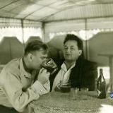 Краснодар. В пивной в парке им. М. Горького, около 1960 года