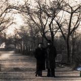 Краснодар. В сквере им. Ленина (Вишняковский сквер), 1950-е