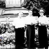 Краснодар. В сквере им. Свердлова, около 1958 года