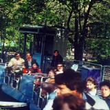"""Краснодар. Аттракцион """"Веселые горки"""" в Первомайском парке, 1987 год"""