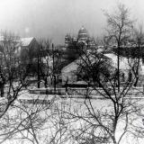 Краснодар. Вид из окна мединститута, 1965 год, вид на север