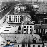"""Краснодар. Вид на город с дома """"Волна"""""""