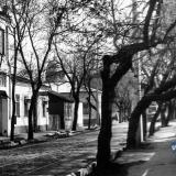 Краснодар. Вид на перекрёсток улиц Коммунаров и Ленина, вид на юг, 1987 год