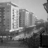 Краснодар. Вид на перекресток улиц Красной и Мира, середина 1970-х годов