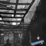 Краснодар. Вид разрушений Северного театра. Февраль 1943 года.