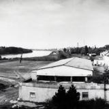 Краснодар. Вид с Тургеневского моста на запад, 1989 год