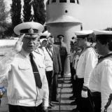Краснодар. Визит Председателя ЦК ДОСААФ СССР Адмирала Флота Г.М.Егорова в Краснодар. 1987 год.