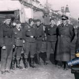 """Краснодар. Военнослужащие """"авиаполевых частей"""" на ул. Красноармейской, 1942 год"""