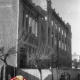 Краснодар. Восстановление Дома офицеров. Вид с улицы Ленина