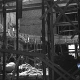 Краснодар. Востановлениее здания театра на перекрёстке улиц Сталина и Гоголя.