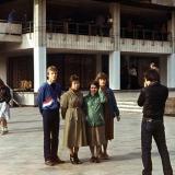 Краснодар. Возле Дома Книги, 1988 год.