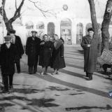 Краснодар. Январским днём в Парке Горького. 1964 год.