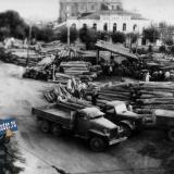 1948 год. Май. Заготовка шпал