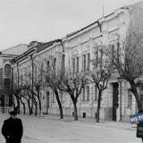 Краснодар. Здания Интерната и Крайисполкома на улице Красноармейской. 1959 год.