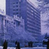 Краснодар. Зимним днём на углу улиц Красной и Орджоникидзе, 1976 год