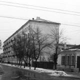 Краснодар. Зимним днем на улице Северной. 1964 год