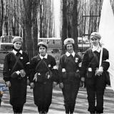 Краснодар. Соревнования сандружин, 60-е годы