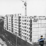 Краснодар. Строительство дома по улице Ленина №71, он же Янковского, 1.