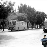 Краснодар. Вид на улицу Буденного от Шаумяна у ЦКР, 1978 год.