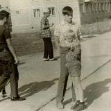 """Краснодар. Микрорайон """"Фестивальный"""", улица Атарбекова №28,  1972 год."""