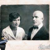 Краснодар. Антонина Даниловна Григорьева и Иван Павлович Теплянский.
