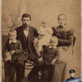 Екатеринодар. Семья Окружко, 1899 год