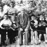 Краснодар. Музыкальная школа на углу Пушкина и Мариинского бульвара, 1955 год