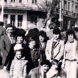 Краснодар. На первомайской демонстрации 1 мая 1985 года.