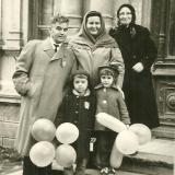Краснодар. У Газо-промыслового управления №1. Коммунаров, 8. 7 ноября 1965