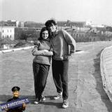 Краснодар. На субботнике при строительстве цирка, 1969 год.