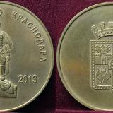 Настольная медаль. Освободителю Краснодара 1943-2013