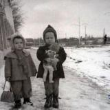 "Краснодар. Около парка ""40 лет Октября"", 1958 год"