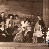 Ст.Брюховецкая. Артисты Брюховецкого Дома культуры. 1963 год.