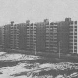Краснодар. Панорама застройки посёлка Гидростроителей домами из объёмных элементов