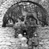 Краснодар.  В Горпарке после демонстрации. 1976 год