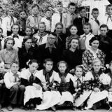 ст. Пашковская. Средняя школа № 4. 5-й класс, 1955 год